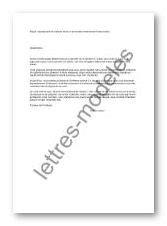 Modèle et exemple de lettres type : Signalement cafards
