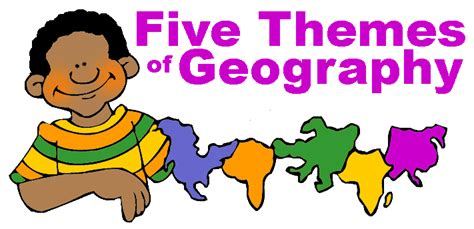 Five Themes Of Geography Video Clips | 5 themes of geography clipart 26