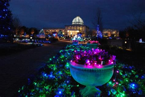 gardenfest of lights at lewis ginter richmond times