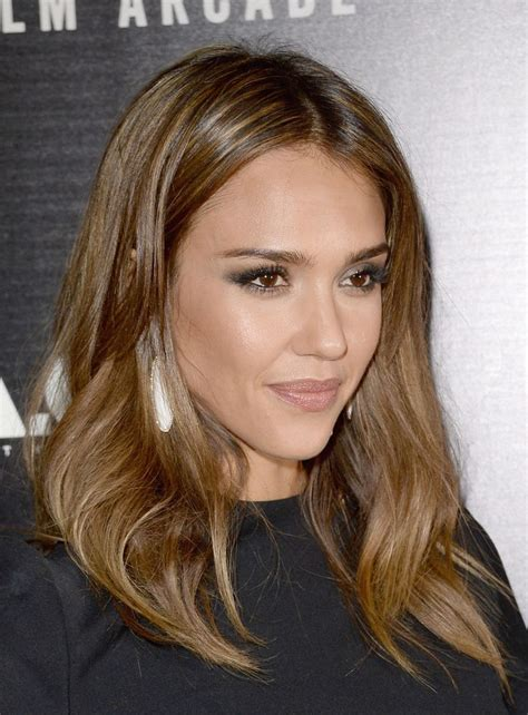 hairstyles brown hair jessica alba s brown hair colors to try this year best