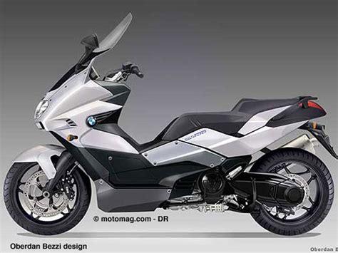 scooter  cm bmw pour  moto magazine leader