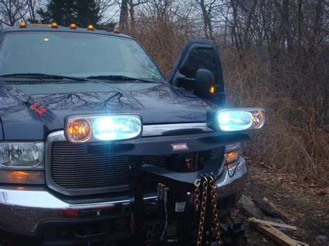 Installed Hids In My Western Nighthawk Lights Plowsite