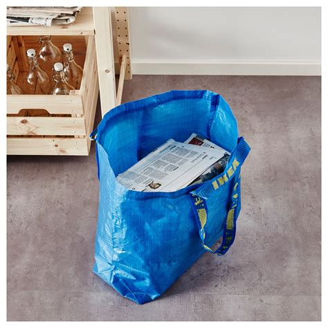 ikea frakta bags frakta carrier bag medium blue 36 l ikea