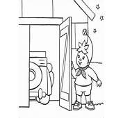 Dibujo De Noddy Abre El Garaje Para Colorear  Dibujos