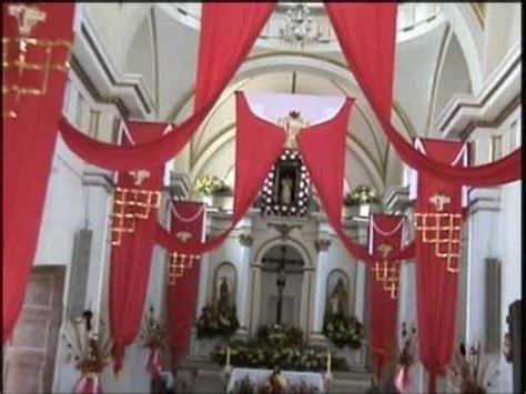arreglo del templo para la celebracion de unm fiestas chiapa colima 2010 decoracion del templo