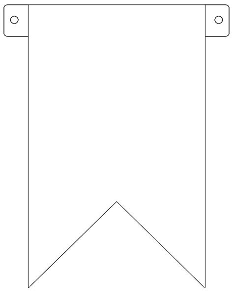 free templates for printable banners 7 best images of free printable pennant banner template