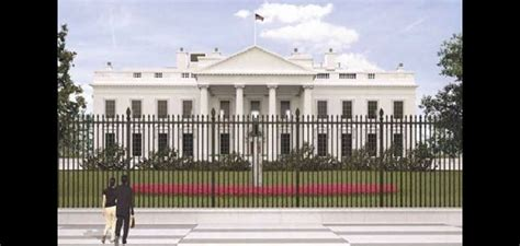 White House Fence by Feds Approve Higher Fence For White House