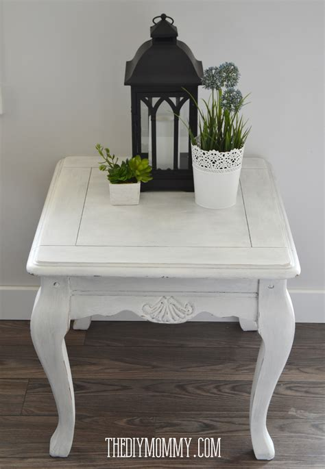 chalk paint shabby chic diy make diy or coloured wax my upcycled side table
