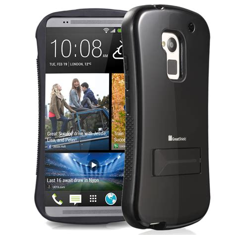 Wallet Anymode Htc One T6 T1310 for htc one max t6 cell phone hybrid tough cover skin with stand new