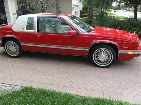 1991 red coupe 8 950 buy or sell classic buick reatta coupe or convertible find used 1991 cadillac eldorado base coupe 2 door 4 9l designer series in cape coral florida