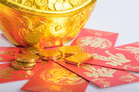 new year traditions gold coins new year gold coins stock photo image 65799580