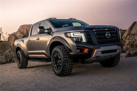 Nissan Titan Warrior Concept Pushes Boundaries at 2016