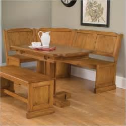 room corner breakfast nook table design