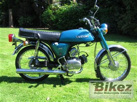 1976 Suzuki AP 50 specifications and pictures