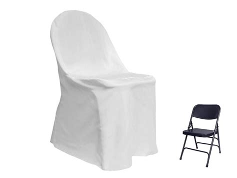 folding chair top covers folding chair cover top white