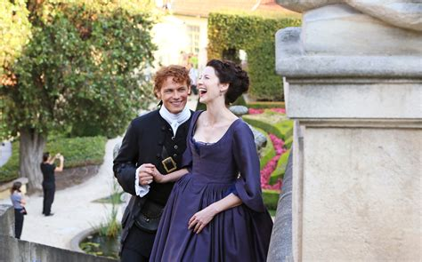 Outlander Wedding Clip by 6 Beautiful Outlander The Photos Tv Insider