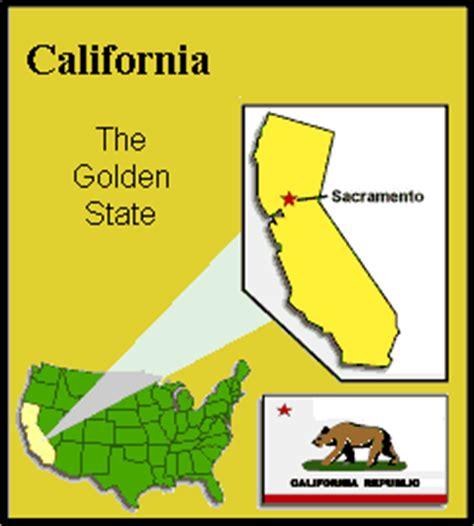 california map golden state bundesstaat kalifornien geschichte des golden state