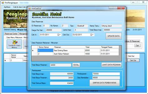 membuat web penjualan sederhana contoh aplikasi perhotelan sederhana dengan c ng blog