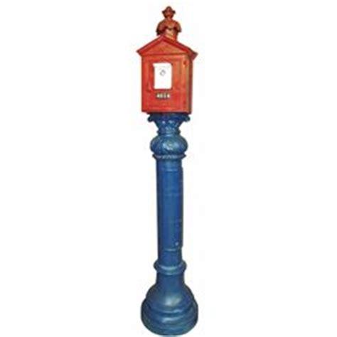 Gamewell Pedestal gamewell pedestal alarm box