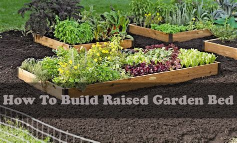 how to build a raised garden bed cheap how to make a raised bed garden 28 images how to build
