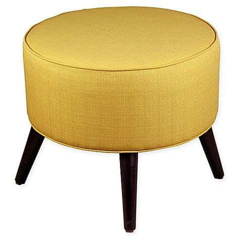 skyline furniture ottoman buy skyline furniture round ottoman in yellow from bed