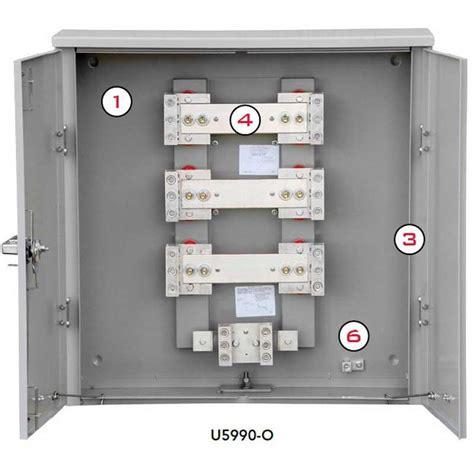 milbank u5990 o door current transformer cabinet