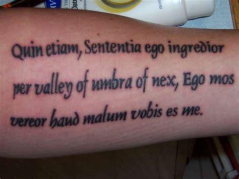 latin phrase tattoos bible phrase