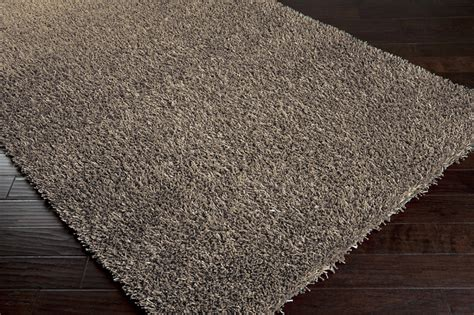 shimmer rugs gray shimmer shag rug by surya rosenberryrooms