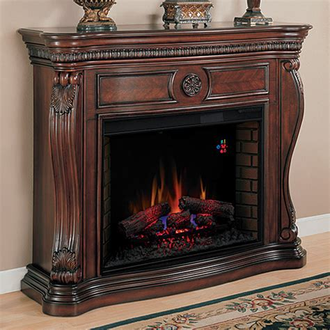 Big Electric Fireplace by Cherry Finishes