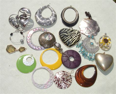 jewelry supplies destash charms jewelry supplies 18 pcs