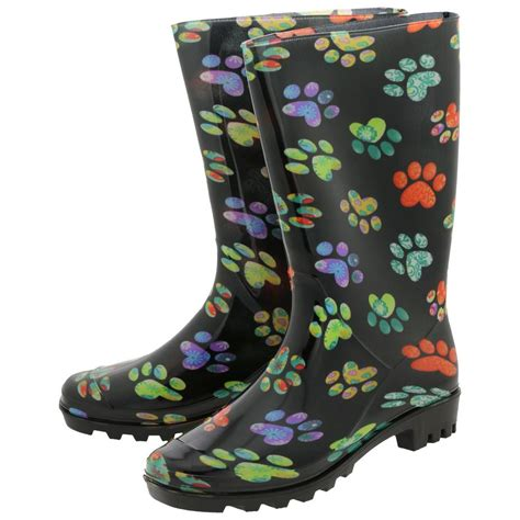 Rains Boot Animal paws hearts galore ultralite boots the animal