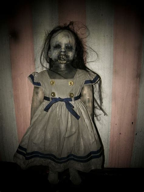 creepiest dolls from horror movies that will scare you agnes creepy doll halloween pinterest devil sleep