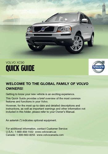 download car manuals pdf free 2006 volvo xc90 free book repair manuals download 2011 volvo xc90 quick guide pdf manual 8 pages
