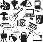 photoplay doodle design draw clipart of doodle hobby images k12573394 search clip