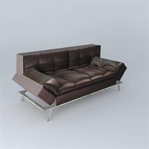 maison du monde sofa sofa brown denver maisons du monde 3d model max obj 3ds