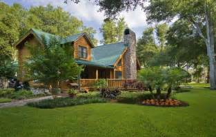 landscape home landscaping landscaping ideas log cabin