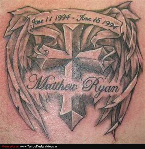 cross memorial tattoo designs 20 best images about cross tatoos on cross