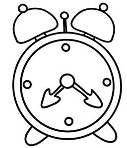 how to draw alarm clock coloring pages coloring sky