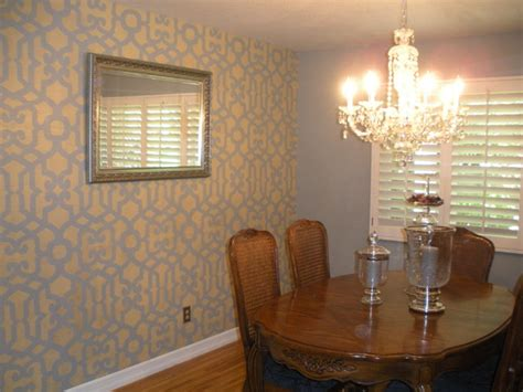 Home Decorators Lighting dining room feature wall