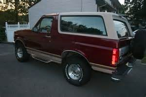 1996 Ford Bronco Eddie Bauer For Sale Find Used 1996 Ford Bronco Eddie Bauer Edition In Colonia