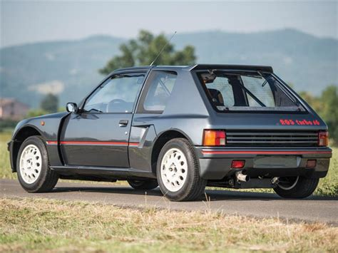 peugeot cars for sale in canada used 1984 peugeot 205 turbo 16 for sale in ontario