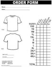 t shirt order form template free search results for printable t shirt order form template