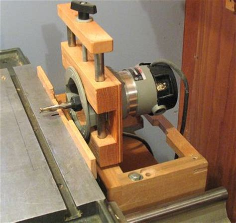 shop made woodworking machines home made mortising machine