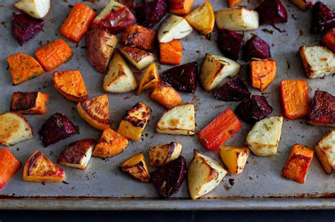 roasted vegetables root roasted rosemary root vegetables the pioneer