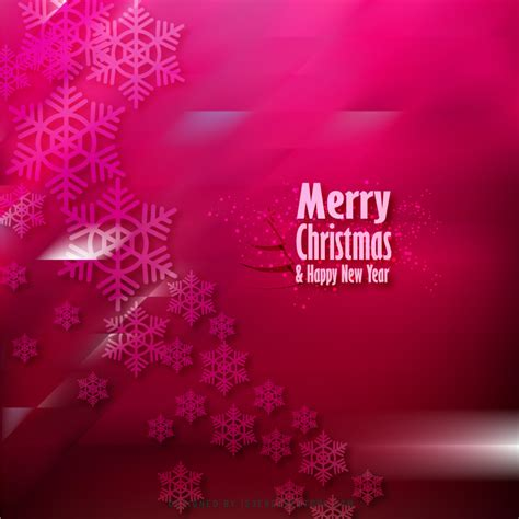 merry christmas and happy new year ruby pink background