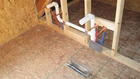 rough in bathroom concrete slab plumbing diagram concrete get free image
