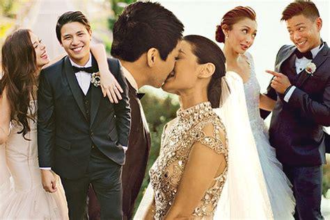 wedding 2014 pinoy actress photo 10 sweetest celebrity wedding vows spot ph