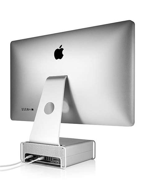 twelve south hirise imac stand storage system gadgetsin