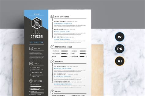 cv resume template the best cv resume templates 50 exles design shack