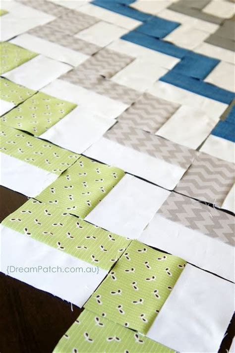 Chevron Quilt Pattern No Triangles by Easiest Chevron Quilt No Triangles I This